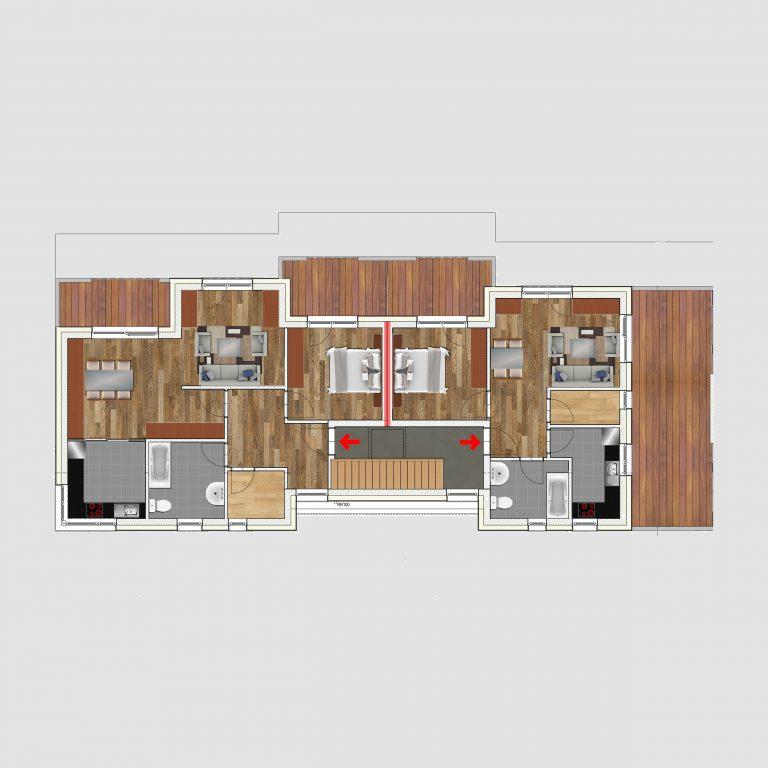 2D Grundrissplan _ Kreatives Projekt
